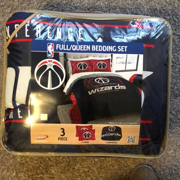 NBA Other - Washington Wizards Queen/Full Bedding Set